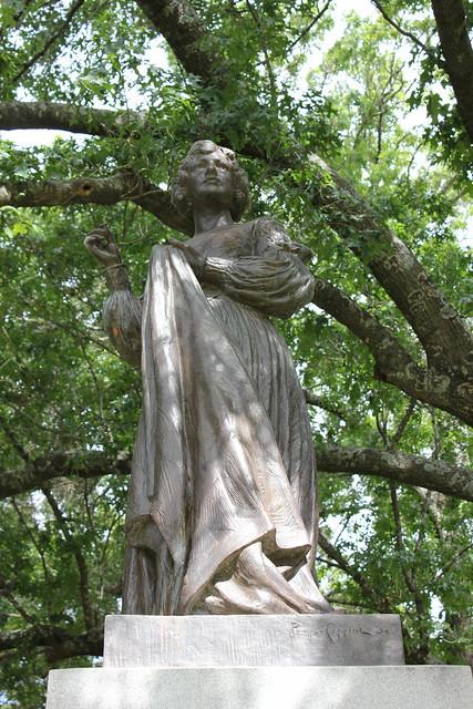 Joanna Troutman Monument, Texas State Cemetery, Austin TX