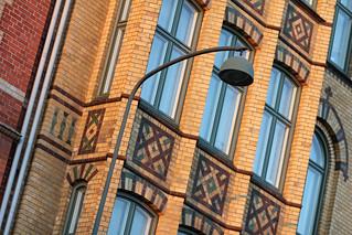 Fassade in Lund