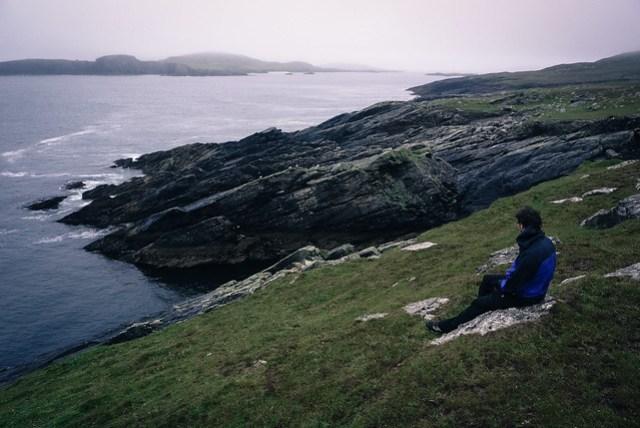 Inishshark's western shore