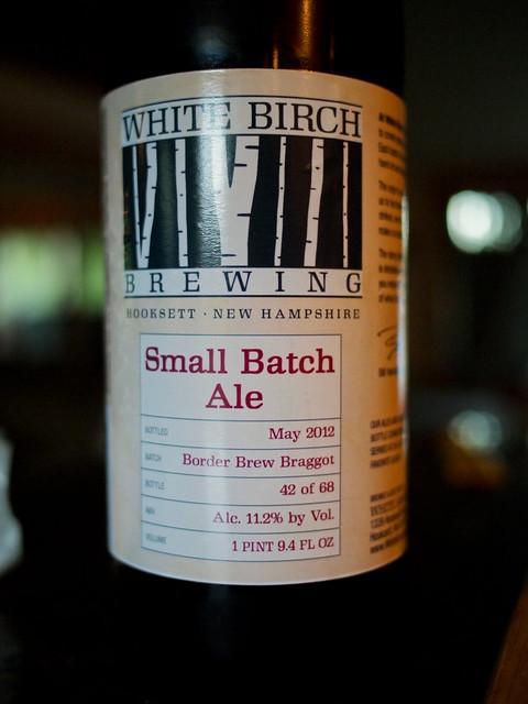 White Birch Small Batch Ale Border Brew Braggot