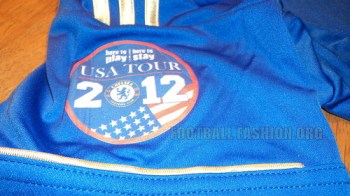 Chelsea FC adidas USA Tour 2012 Home Soccer Jersey / Football Kit / Camiseta