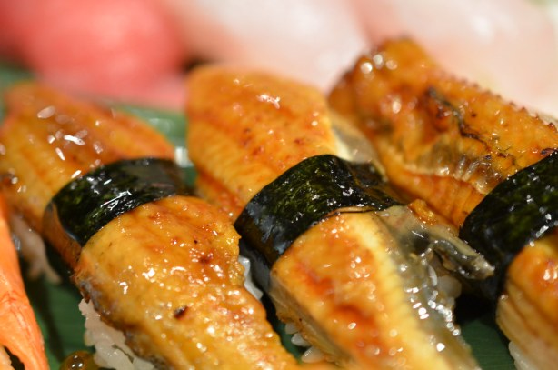 Masuya Unagi nigiri sushi
