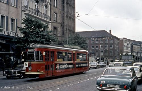 Aachen 1968: Badewanne und Großraumwagen