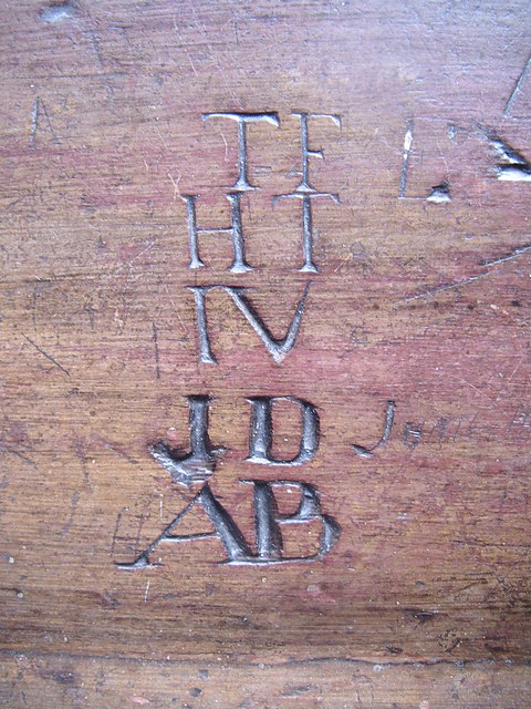 Graffiti, Sir William Turners Almshouse