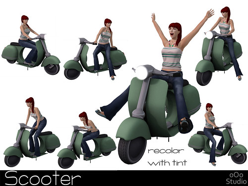 oOo scooter composite