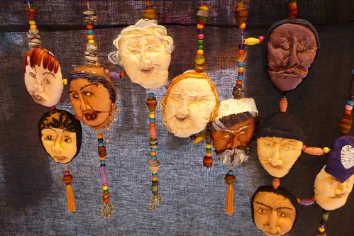 julie mary humphreys quilt -heads