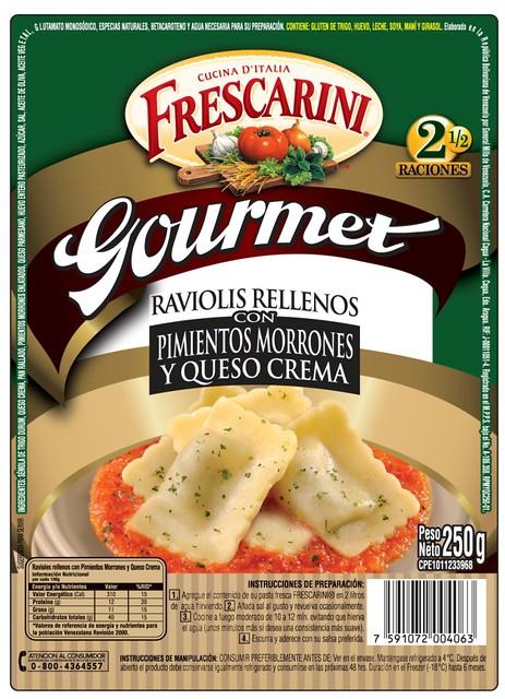 Frescarini Raviolis Gourmet Queso Crema
