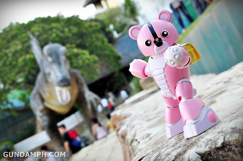 Pink Bearguy at Baluarte