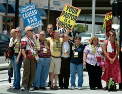 General Conference protest