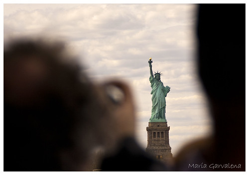 """New York - Statue of Liberty (Say """"cheese""""!)"""