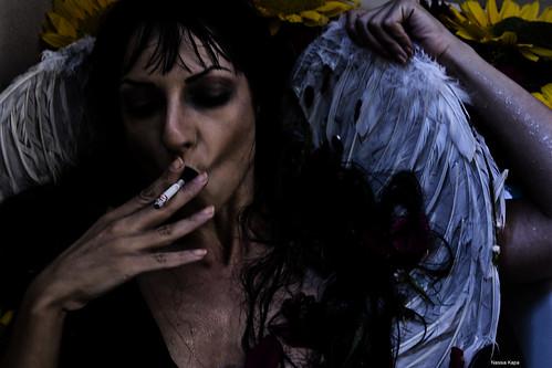 dark angel by Nassia Kapa