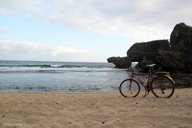 My Bicycle at Siung