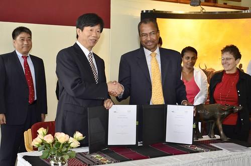 Visit by Korea's Rural Development Administration (RDA) to ILRI in Nairobi