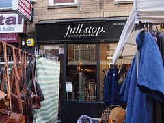 full stop cafe. Brick Lane