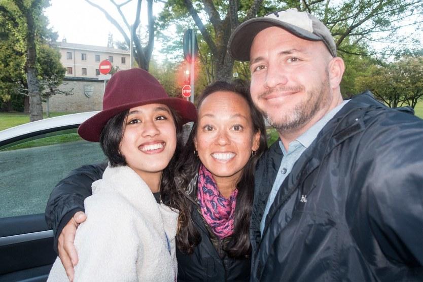 Emily, Heather and Matt.