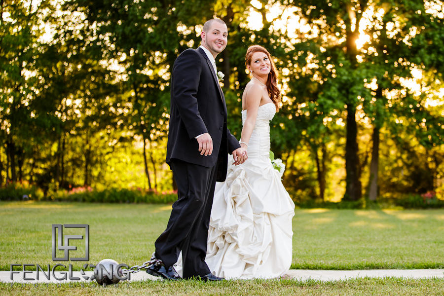 Ball & Chain | Misty & Jonathan's Wedding | Tryphena's Garden | Fort Valley Perry Macon Wedding Photographer