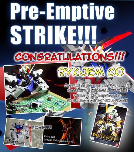 GPH Contest Pre Emptive Strike MOST CREATIVE