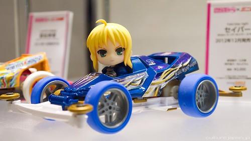 Nendoroid Petite Saber x Tamiya 4WD