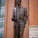 Bud Selig statue at Miller Park