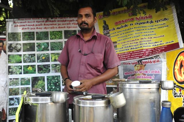 Ponnuchammy, The Madurai soupman