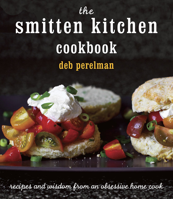 the cover of the smitten kitchen cookbook