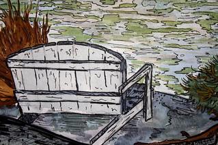 Bench Detail - Lake Vermilion