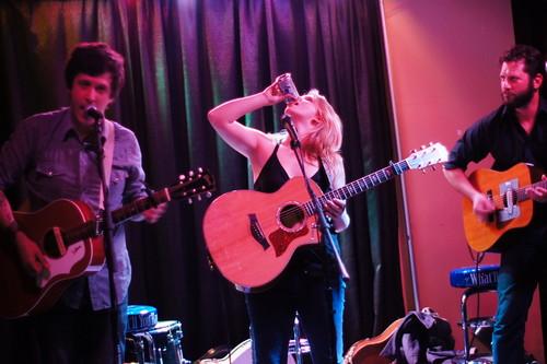 BJ Barham, Lizzy Ross & JKutchma, Slim's, Raleigh NC, 04/12/12