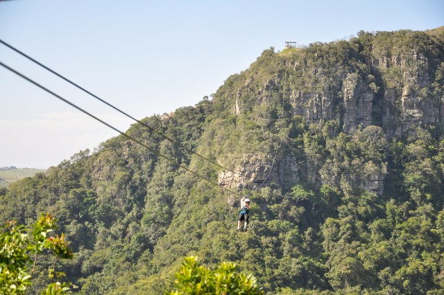 Oribi Gorge zip-line