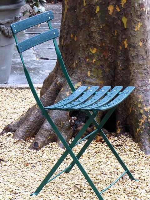 Empty Chair, Bryant Park
