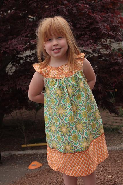 Tabby's Meadowsweet Dress