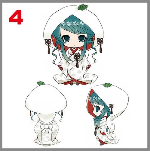 Design Finalist #4 for Nendoroid Snow Miku 2013