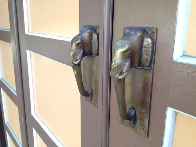 Elephant door handles, Castro Street