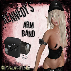 Kennedy's Arm Band Ad