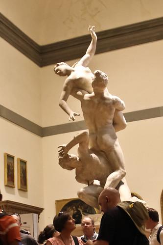 Rape of the Sabine Women, Giambola