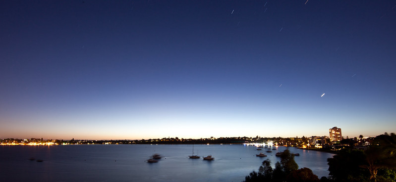 Claremont Bay at Night