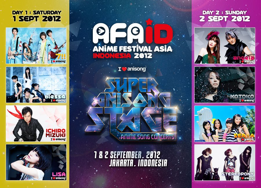 Anime Festival Asia Indonesia 2012 Highlights