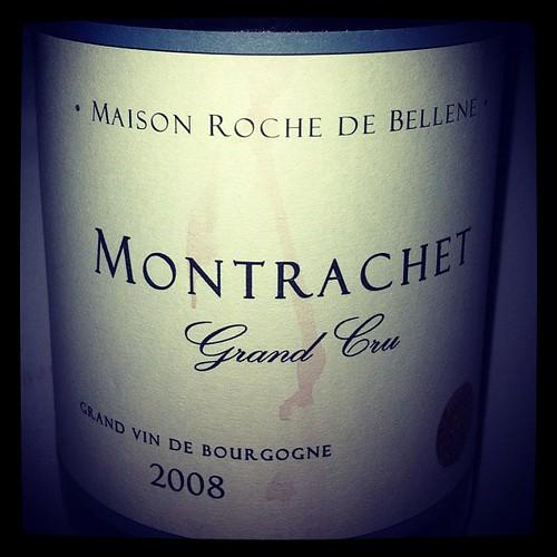 Montrachet 2008 Maison Roche de Bellene
