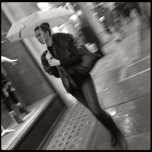Keeping the furs dry by Darrin Nightingale