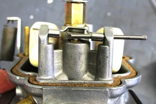 Inserting Float Hing Pin