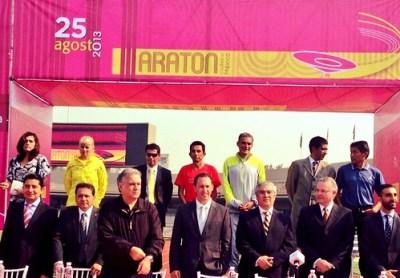 Maratón de la Ciudad de México 2013 - Presentación