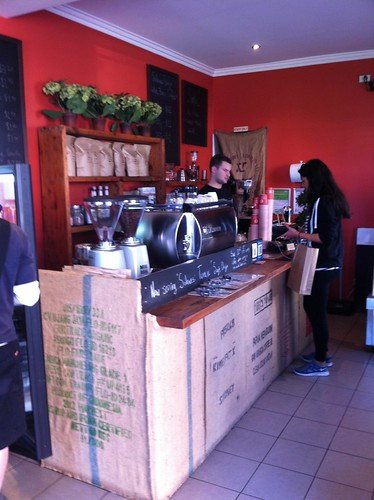 Where the magic happens - Aslan Coffee, St Peters