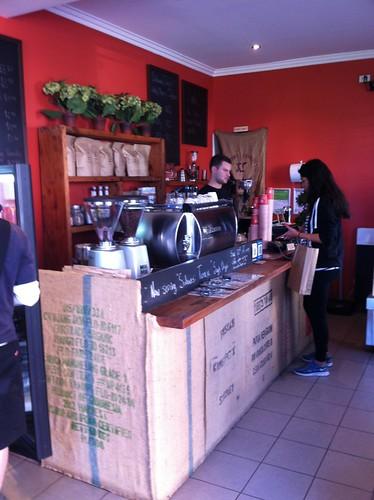 Where the magic happens - Aslan Coffee, St Peters
