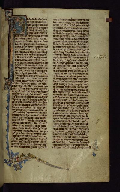 Bible, Frater Ambrosius, Walters Manuscript W.51, fol. 3r