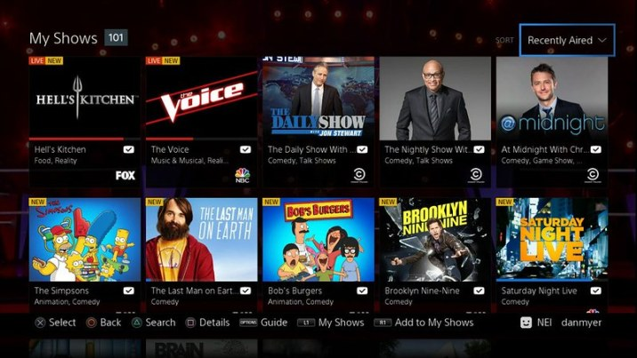 PlayStation Vue PS4 PS3 Android iOS