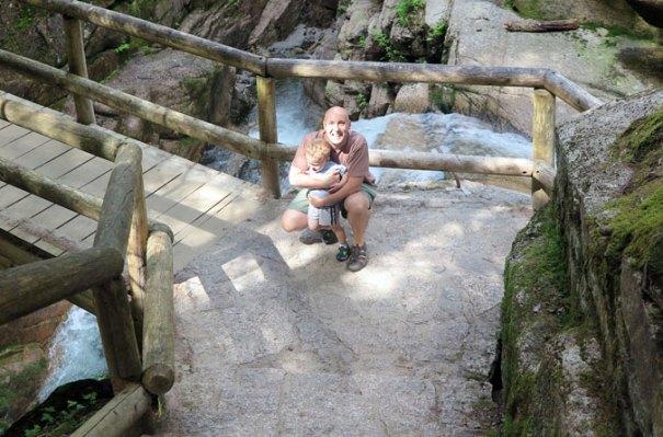 Sabbaday Falls Bridge
