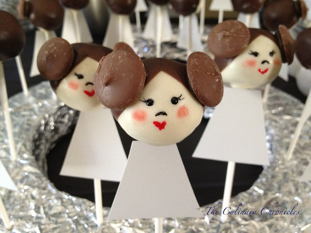 Princess Leia Cake Pops