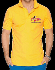 Caribbean Wave Polo Shirt
