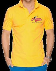 Caribbean Wave Polo Shirt