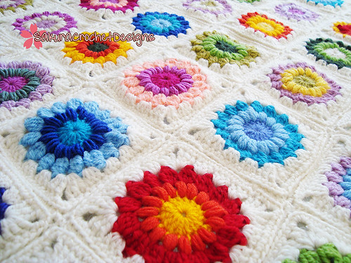 Winter Garden Baby/Toddler blanket