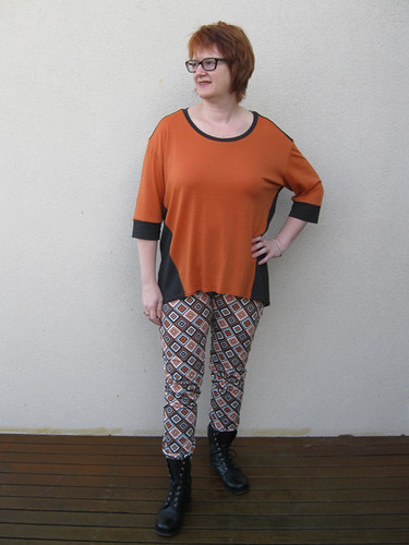 StyleARC Elle pants with Ivy top